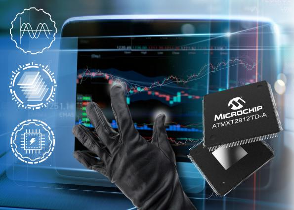 Single-chip touchscreen controllers enable 20-inch automotive touchscreens