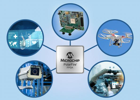 Microchip's Microsemi subsidiary has launched a Smart Embedded Vision initiative to ease the design of intelligent machine vision systems using PolarFire FPGAs.