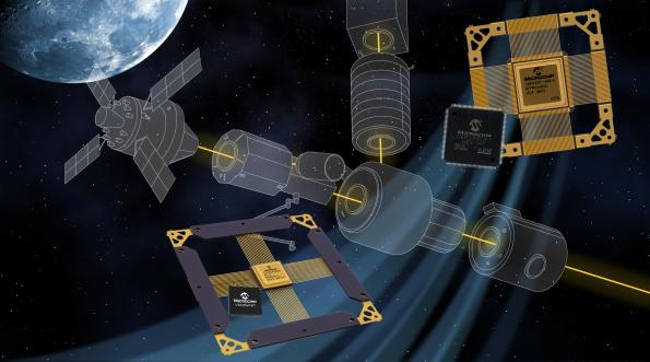 Microchip Technology has introduced, what the company claims, is the first space-qualified Ethernet transceiver.