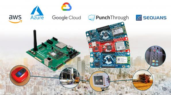 Microchip announced a full range of cloud-agnostic, turnkey, full-stack embedded development solutions from 8-bit MCUs to fully-featured 32-bit MPU gateways.