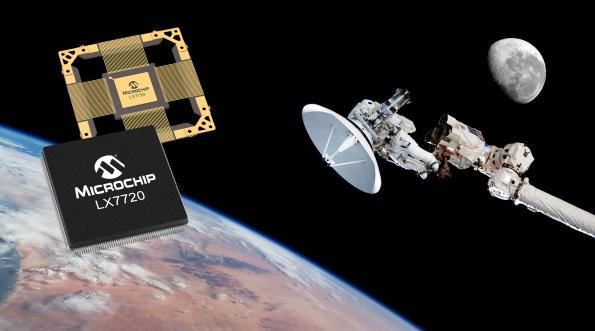 Microchip has launched a radiation-hardened, mixed-signal motor controller that integrates more than 20 commonly used functions into a single chip.