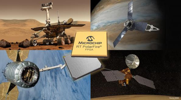 Microchip is now shipping engineering silicon for the company's radiation-tolerant (RT) PolarFire FPGA while it is being qualified to spaceflight component reliability standards.