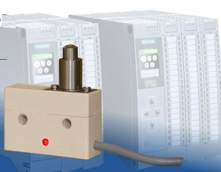 Microrupteur avec LED intégré pour l'indication d'état