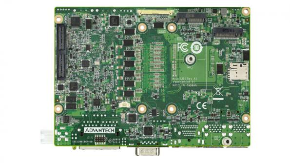 "Advantech has launched the company's latest 3.5"" SBC MIO-5393, which is powered by 9th-generation Intel Xeon/Core processors and designed for challenging environments."