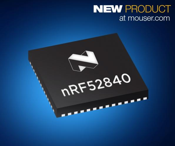 Nordic's nRF52840 multi-protocol SoC available from Mouser