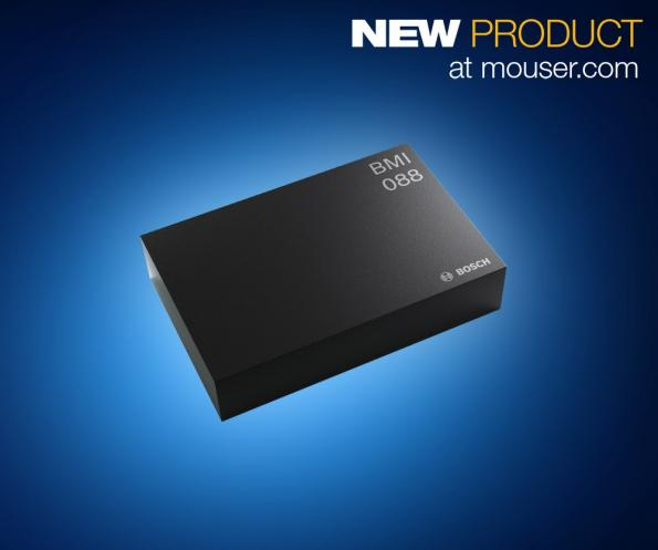 Mouser now offering high-performance IMU for drones and robotics