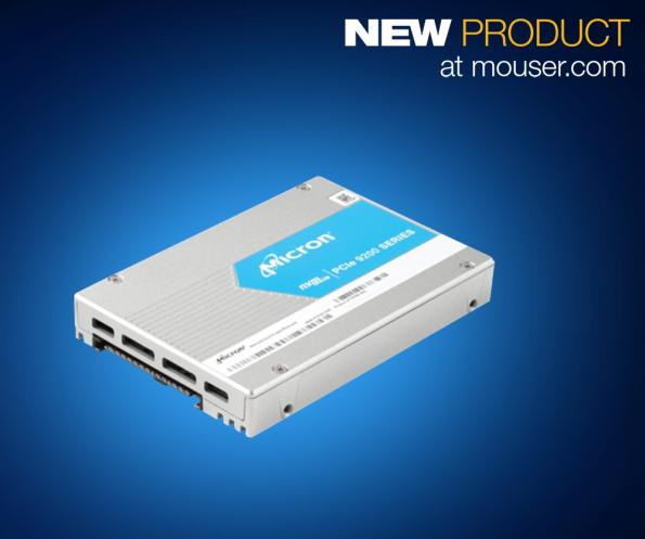 Mouser adds Micron 9200 NVMe SSDs with storage up to 11TB