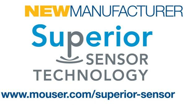 Mouser has signed a global distribution agreement with Superior Sensor Technology, a manufacturer of application-specific pressure sensors.