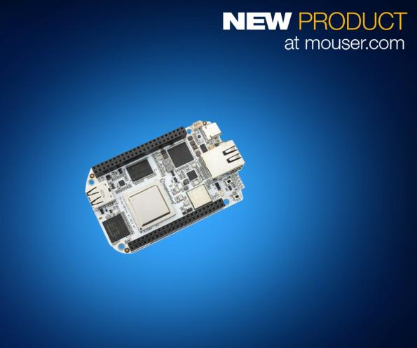 Mouser is now stocking the recently launched BeagleBone AI - an open hardware computer that is intended to allow the exploration of artificial intelligence (AI) applications.