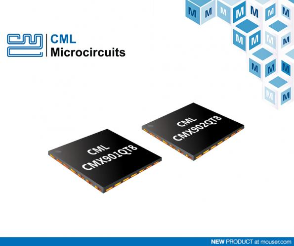 Mouser has penned a global distribution agreement with CML Microcircuits, a leading manufacturer of semiconductors for telecommunications.