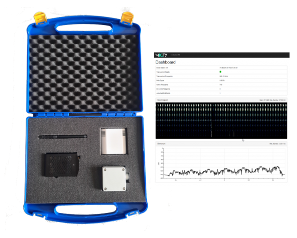 First low cost Mioty gateway for the IoT