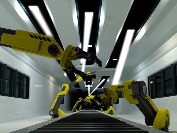 Li-Fi passes industrial test with BMW's robotic tools
