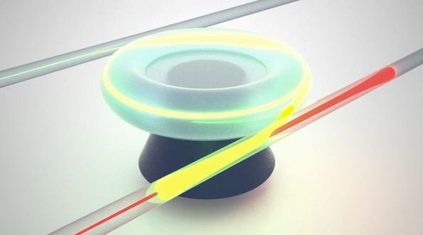 Microtoroid resonator promises reconfigurable on-chip light-routing