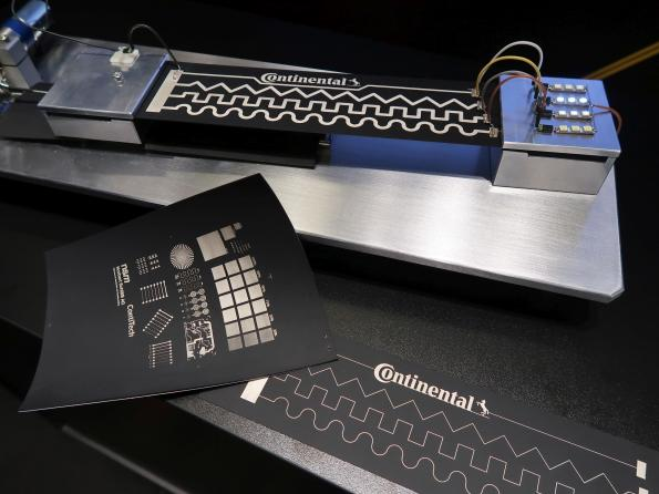 With printed electronics, Continental aims for smart rubber