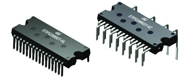 New package options for 600V power modules simplify motor drives