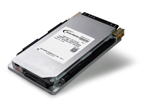 3U VPX power line conditioner provides DC-DC holdup