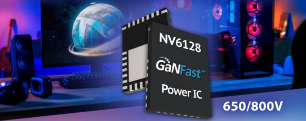 650V GaN chip has 800V peak operation for 500W chargers