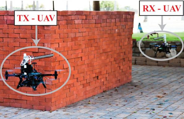 WiFi-equipped drones extract through-wall 3D-maps out of RSSI measurements