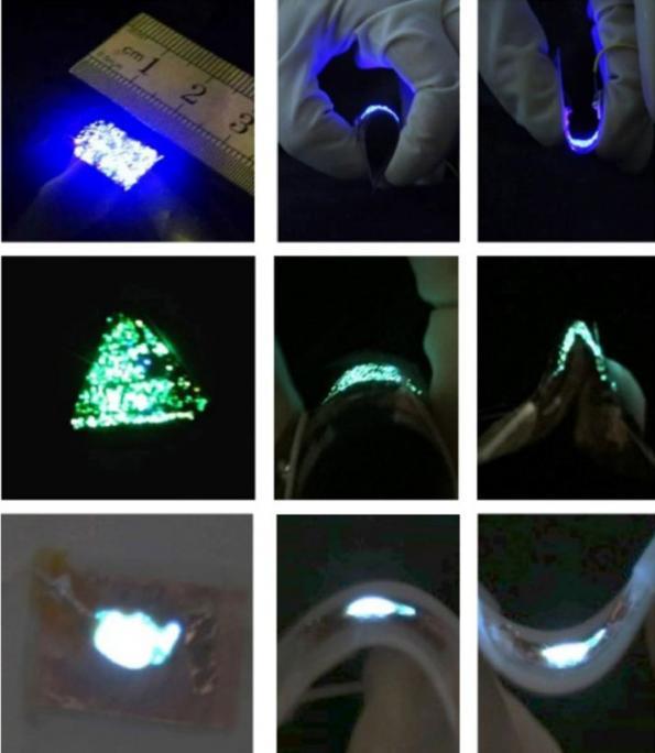 GaN-based nanowire LEDs beat OLEDs on both flexibility and longevity