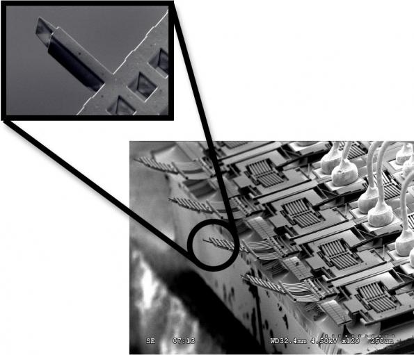 MEMS-based AFMs by the thousands for atomic-level wafer probing