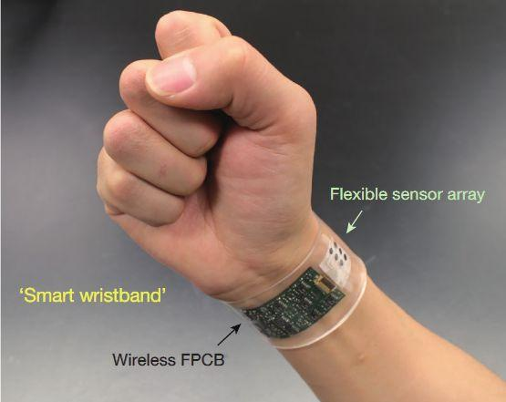 Flexible skin patch analyses sweat in real-time