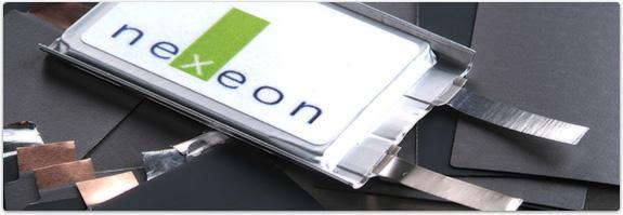 Nexeon li ion cell