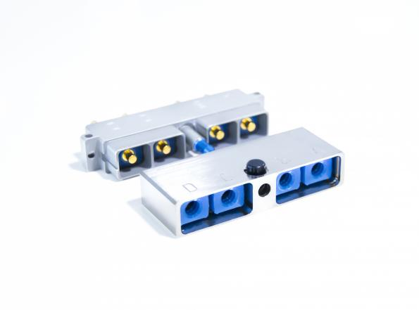 Nicomatic has announced an EN4165-compliant, modular, rectangular I/O connector series, which is low-profile and user-configurable.