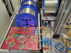 Record 319Tbit/s over standard fibre optic cable