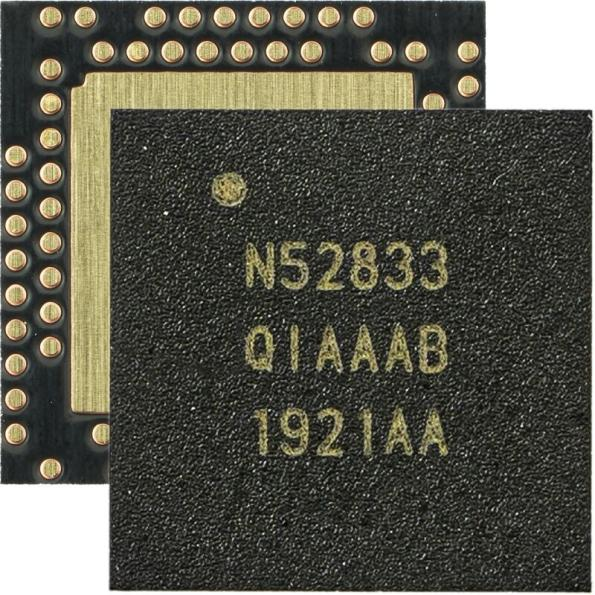 Nordic Semiconductor has launched the nRF52833 advanced multiprotocol SoC - an ultra low power Bluetooth LE, Thread, Zigbee, and 2.4-GHz wireless connectivity solution.