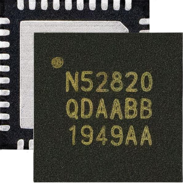 Nordic Semiconductor's nRF52820 SoC is a fully-featured +8 dBm output power radio supporting all Bluetooth 5.2 features with high-temperature capability.