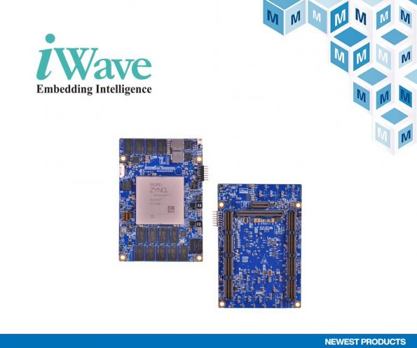 Mouser Electronics has signed a global distribution agreement with iWave Systems, that will see the distributor sell iWave's extensive portfolio of system-on-modules (SoMs).