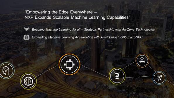 NXP Semiconductors has enhanced its machine learning (ML) portfolio with a new exclusive partnership with Au-Zone Technologies.
