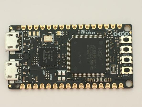 Okdo has launched its first own-branded SBC, which costs only £13.42, and is based around an NXP LPC55S69 MCU.