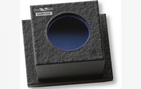 Global shutter camera module is compact, low power