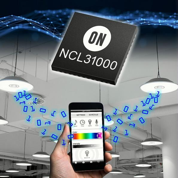 LED driver adds VLC visible light communications