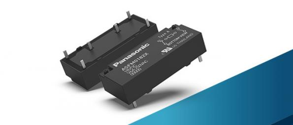Panasonic's 1a1b SFM low profile 8pole safety relay has a height of 7.8mm