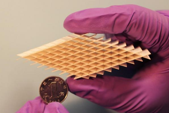 Researchers use paper to create lightweight energy generator