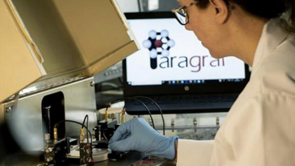 Graphene wafers in production at Paragraf