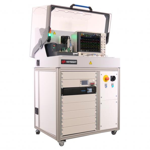 The PD1500 double pulse wide bandgap test system from Keysight