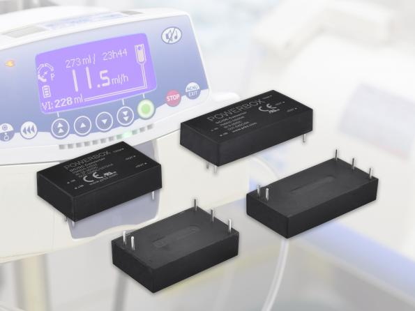 105 DC-DC converters for medical designs