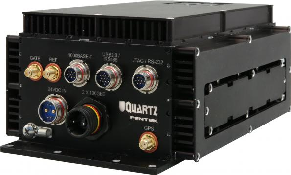 Pentek has added to its Quartz RFSoC architecture family with the Model 6350, an eight-channel A/D and D/A converter system in a rugged, compact enclosure.