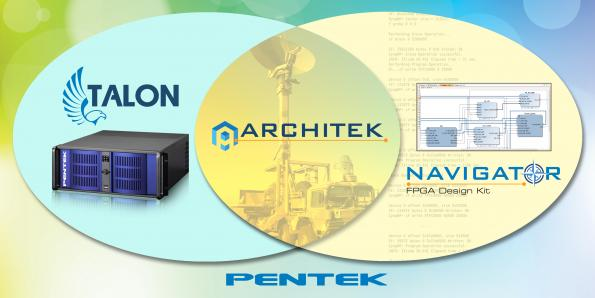 Pentek has launched the ArchiTek FPGA Development Suite which is designed for the development of custom IP to select Pentek Talon recording systems.