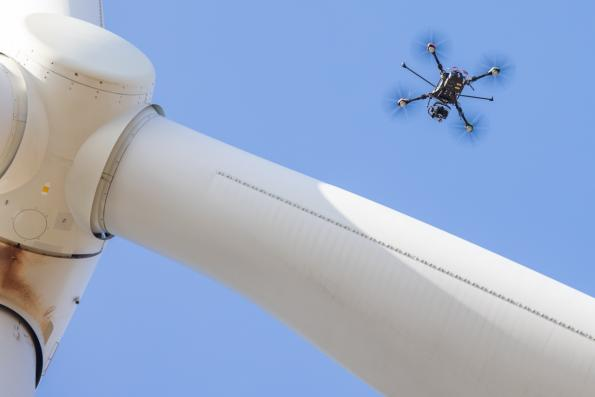 £1.6m for AI drones checking wind turbines