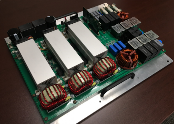 Vienna reference design with silicon carbide switches with 98% efficiency
