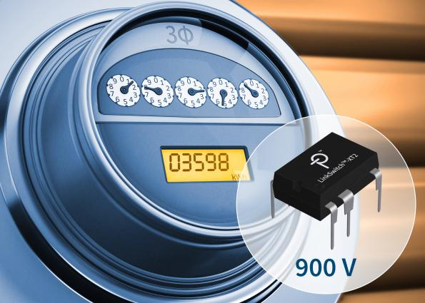 Flyback switcher integrates 900 V MOSFETs for universal power supplies