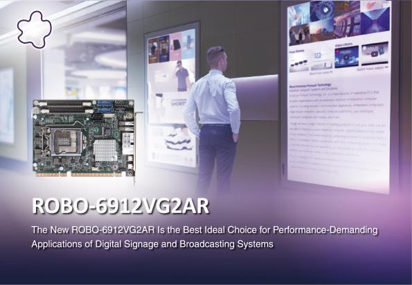 Portwell has launched the ROBO-6912VG2AR, a PICMG 1.3 half-size SBC with 8th/9th Generation Intel Core workstation and desktop processors.