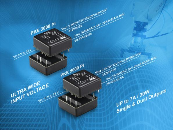 30W DC-DC converter range extended with sealed and encapsulated versions