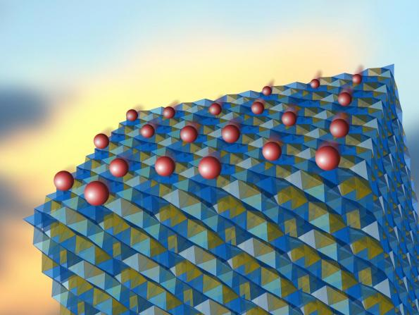 Promising new material for solid state lithium batteries