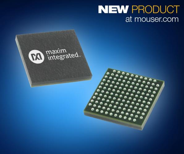 Mouser stocking Maxim's MAX32652 ultra-low-power MCU
