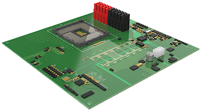 48V reference board for first Intel 10nm server chip